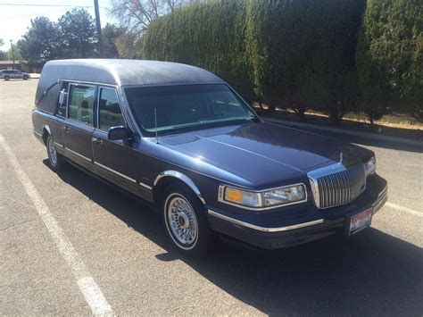 1997 lincoln town car sale 1997 lincoln town car hearse for sale