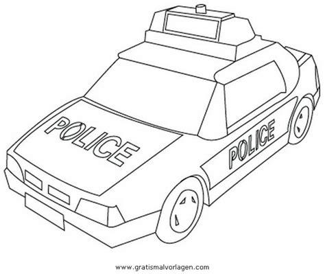 Polizeiauto Zum Malen by Polizeiauto 3 Gratis Malvorlage In Autos Transportmittel