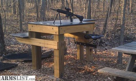 gun benches armslist for sale custom shooting bench