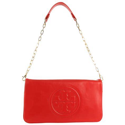 Bm092 Leather Clutch Bag In 5 Colors Orginal burch bombe reva clutch bag ebay