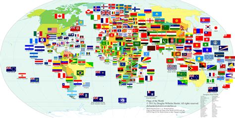 world map with country names and flags herald magazine embl 232 mes pays