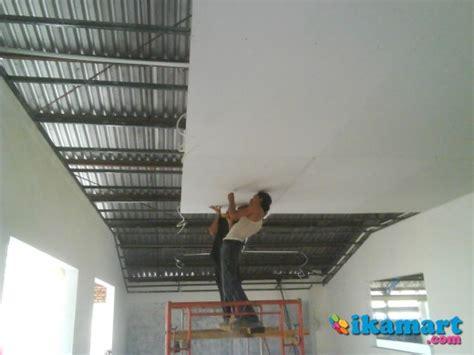 Jasa Pekerjaan Plafon Gipsum spesialis pemasangan plafon partisi gypsum padilah gypsum