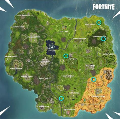 fortnite week 4 challenges complete guide on fortnite season 6 week 4 challenges