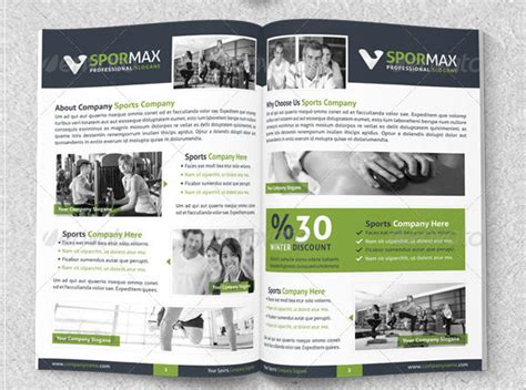 sports brochure templates free 25 sports brochure templates free premium
