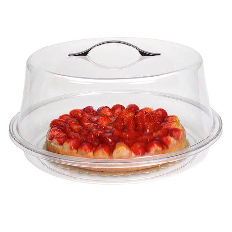 Salep Kana pol箘karbonat yuvarlak pasta ve kek kabi takimi 35 cm