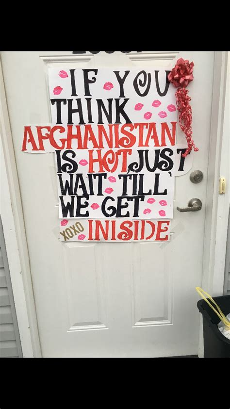 homecoming sign military quotes humour military