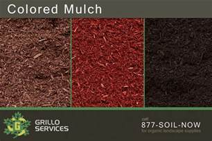 choosing between pine hemlock cedar bark colored mulch
