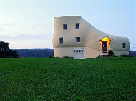 shoe house in pa design travel weirdly shaped buildings