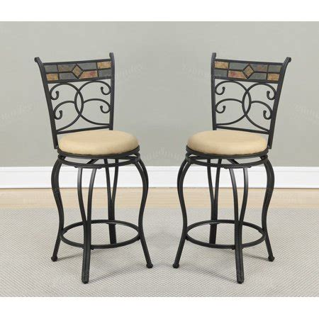 Bar Stools For 47 Inch Counter by 29 Inch Seat H Counter Bar Chairs Kitchen Patio Metal With