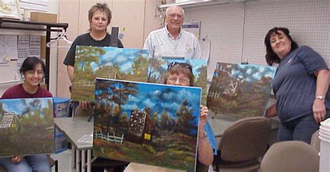 bob ross painting classes in florida lenherr bob ross instructor in florida