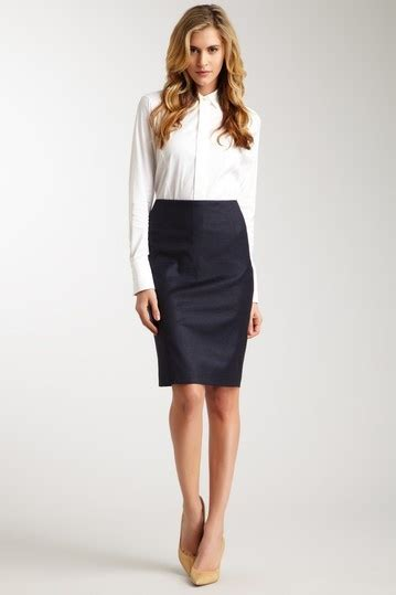classic pencil skirt style