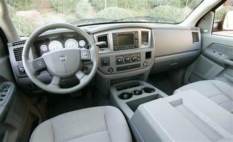 Dodge Ram 2008 Interior car and driver