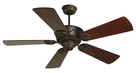 craftmade ceiling fan blades craftmade aged bronze chaparral 52in 5 blade indoor