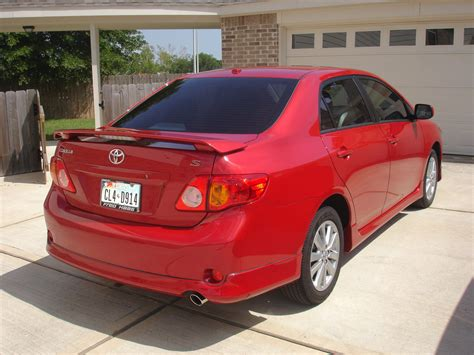 red toyota toyota corolla price modifications pictures moibibiki