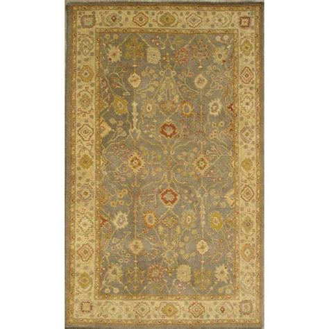 Safavieh Antiquity Safavieh Antiquity Blue Ivory 6 Ft X 9 Ft Area Rug