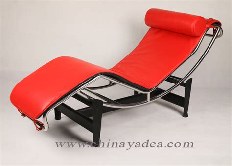 red leather chaise lounge chair le corbusier chaise lounge chair in red leather news yadea