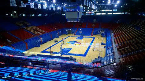 what is section 25 allen fieldhouse section 10 rateyourseats com