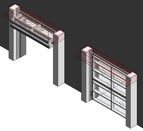 Bim Objects Families Overhead Bifold Doors
