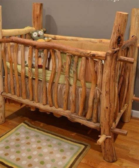 Rustic Baby Cribs Rustic Crib Bathrooms Pinterest