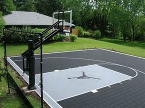 cost to build a backyard basketball court