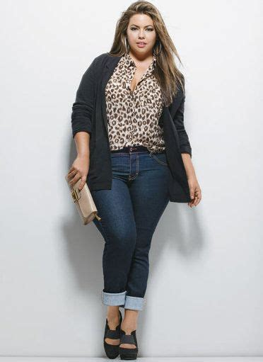 jean styles and cuts for plus sizes plus size casual outfit curves swag big curvy ladies