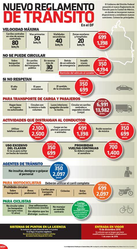 multas de transito estado mexico principales modificaciones al nuevo reglamento de tr 225 nsito