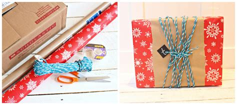 kinds of gift wrapping five fast fab gift wrap ideas the happy housie