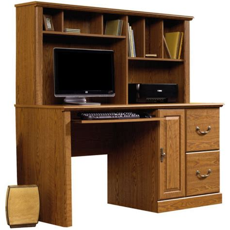 Sauder Orchard Hills Large Computer Desk With Hutch By Sauder Desks With Hutch