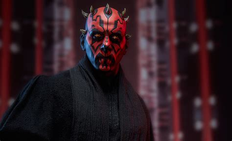Starwars Darth Maul Wars Darth Maul Premium Format Tm Figure By Sideshow