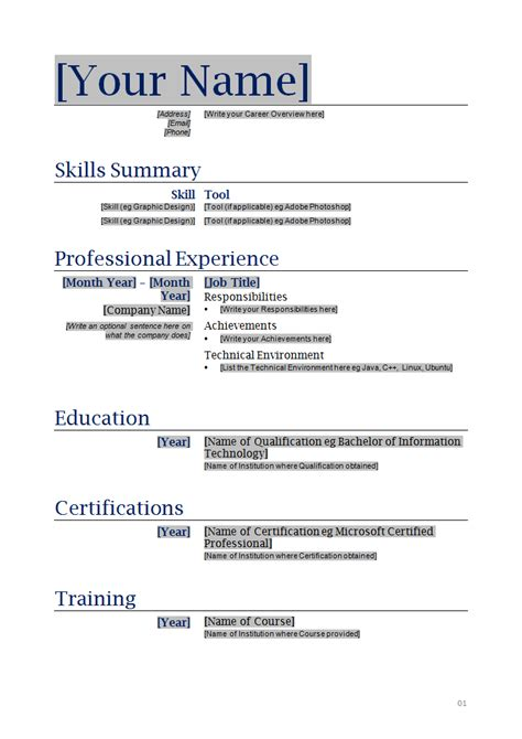 Format On How To Make A Resume by How To Make A Resume Sle Sle Resumes