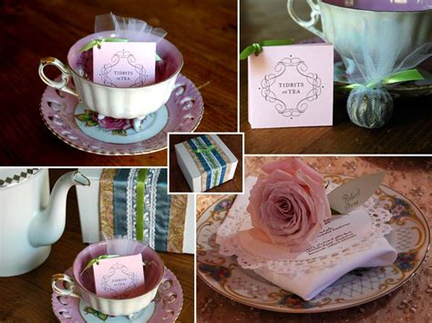bridal shower tea favor ideas organizing a tea style caramel