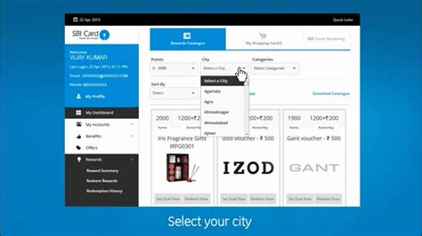 how to make sbi credit card how to redeem sbi credit card reward points