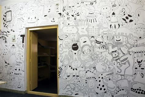 doodle on wall the doodle adventure