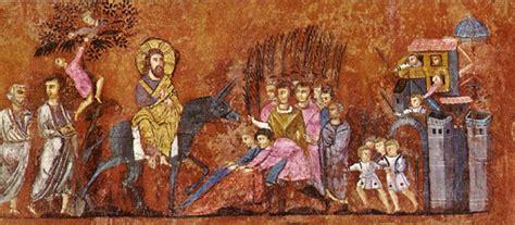 ingresso a gerusalemme cattedrale di reggio calabria
