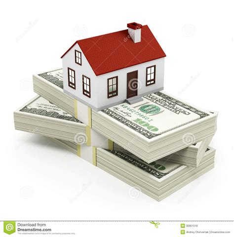 mortgage for house house mortgage royalty free stock photos image 30951518