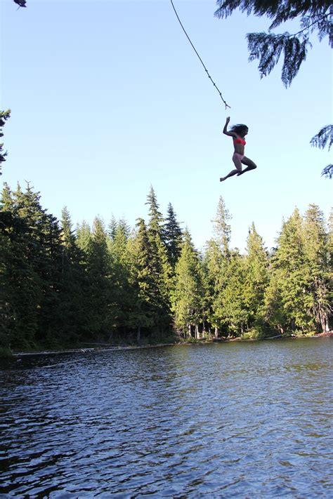 rope swing lake rope swings and outdoor things billabong canada