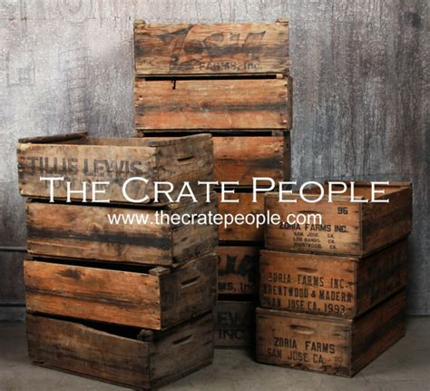 wood crates for sale free shipping vintage wood crates zoria farms crate
