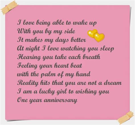 Wedding Quotes Instagram by One Year Anniversary Poems For Boyfriend Instagram