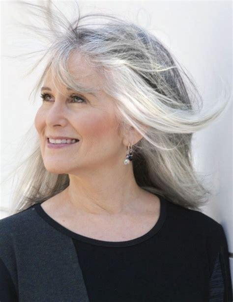 women in their 30s with gray hair 124 best images about over 50 hot on pinterest