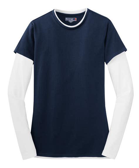 Sleeve Layered Shirt sport tek 174 sleeve layer t shirt
