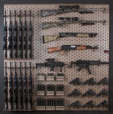 25 best ideas about gun racks on gun safe diy