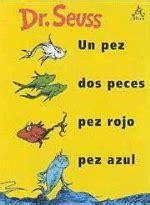 un pez dos pez un pez dos peces pez rojo pez azul dr seuss compra libro precio fnac es