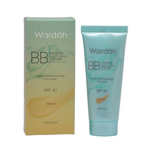 Wardah Sunscreen Gel Spf 30 wardah everyday bb 15ml acne perfecting