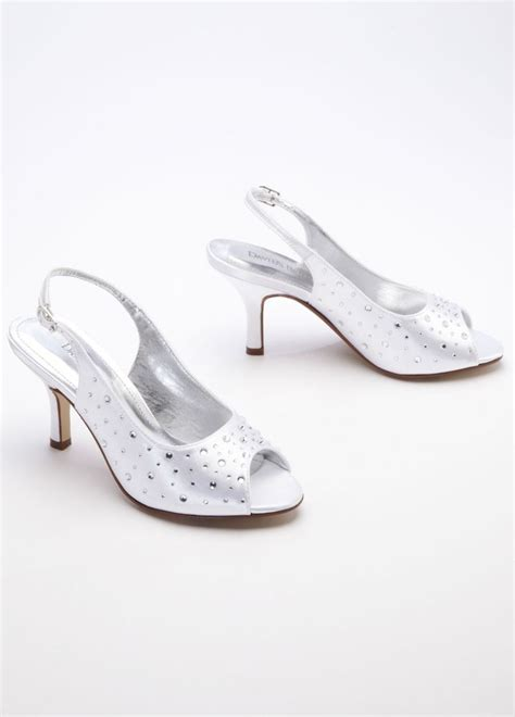 dyeable shoes david s bridal wedding bridesmaid shoes dyeable