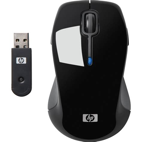 Mouse Wireless Hp hp wireless comfort mouse black fq422aa aba b h photo