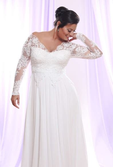 wedding dresses with sleeves plus size wedding dresses with sleeves for plus size wedding hub