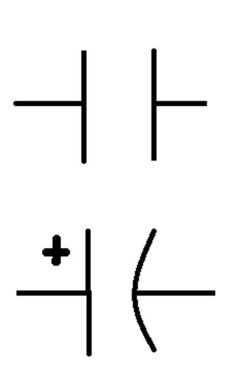 que es un capacitor simbolo electronica electronica basica