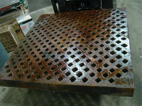 60 quot x 60 quot acorn style welding table weld layout platen