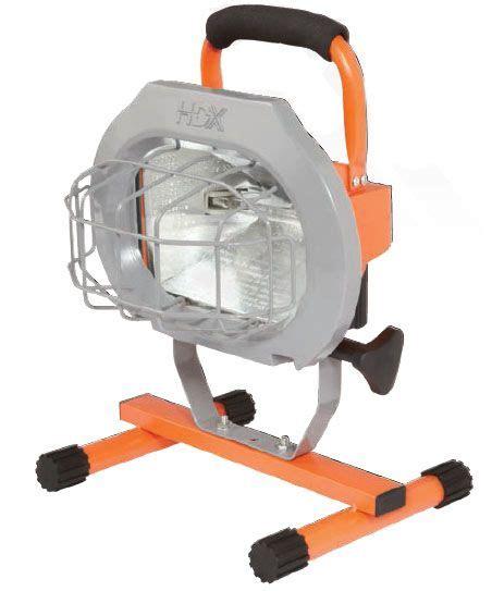 hdx portable halogen work light hdx portable halogen work light 28 images hdx 500