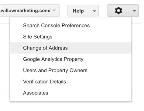 Change Address On Search Search Engine Optimization Seo When Changing Your Name Or Domain